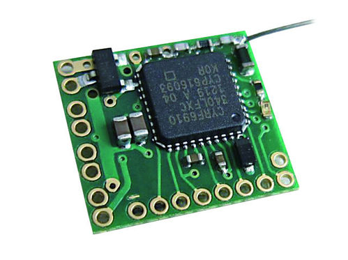 2.4 GHz receiver RX43D-32-V5, 7 channels