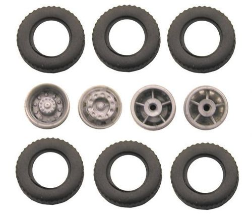 B10 complete tyres for 1:87 lorry