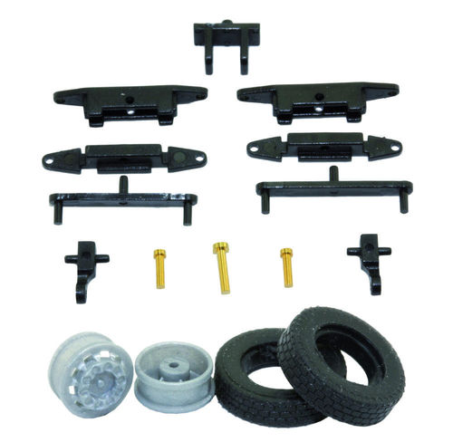1:87 Truck Steering Kit for Car System Vehicles or RC Models